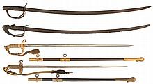 Four American-Style Swords