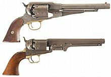 Two Antique American Percussion Revolvers -A) Remington New Model Army Revolver