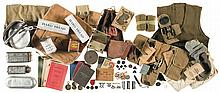 Large Grouping of World War I Style Field Items
