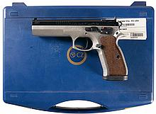 CZ Model 75 Tactical Sport Semi-Automatic Pistol with Case
