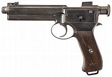 Roth-Steyr Model 1907 Semi-Automatic Pistol