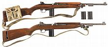Two M1 Semi-Automatic Carbines -A) National Ordnance M1 Carbine