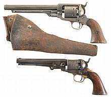 Two Percussion Revolvers -A) Whitney Navy Second Model 2nd Type Revolver