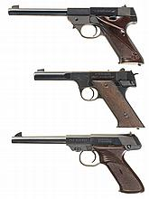 Three High Standard Semi-Automatic Sporting Pistols -A) High Standard Sport King Pistol