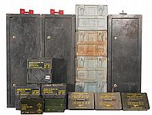 Grouping of Storage Cans and Safes