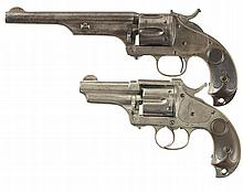 Two Merwin Hulbert Army Revolvers -A) Merwin Hulbert Frontier Army Single Action Revolver