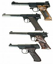 Four High Standard Semi-Automatic Pistols -A) High Standard Field King FK-101 Pistol  with Two Extra Magazines