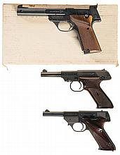 Three High Standard Semi-Automatic Sporting Pistols -A) High Standard Supermatic Citation Model 106 Pistol with Box