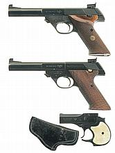 Three High Standard Pistols -A) High Standard Model 103 Supermatic Citation Semi-Automatic Pistol