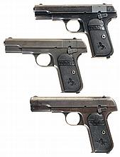 Three Colt Semi-Automatic Pistols -A) Colt 1903 Pistol