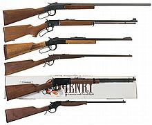 Six Lever Action Long Guns -A) Ithaca Model 66 Buck Buster Shotgun