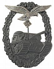 Panzergrenadier Style Luftwaffe Panzer Assault Badge
