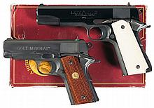 Two Colt Semi-Automatic Pistols -A) Colt Delta Elite Pistol with Box