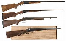 Four Side by Side Shotguns -A) Boito BR2 Shotgun in 20 Gauge