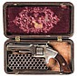 Desirable Smith & Wesson 1st Model 1st Issue 5th Variation Revolver with Gutta Percha Case