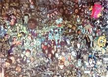 The Beatles Vintage Collage Poster