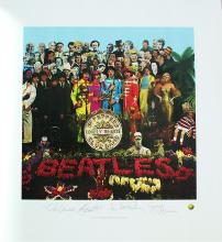 The Beatles' Sgt. Pepper's' Limited Edition Lithograph