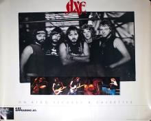 Axe Promotional In Store Advertisement Poster