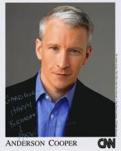 Anderson Cooper Autographed Photograph
