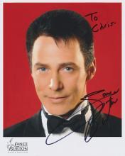 Lance Burton Autographed Photograph