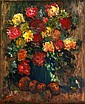 Gladys Maccabe, RUA - STILL LIFE, FLOWERS, Oil on
