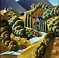 George Callaghan - BLUE WATER RIVER, Oil on
