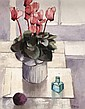 Richard J. Croft, RUA (20th Century) - STILL LIFE,