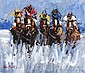 Desmond Murrie (20th Century) - FIVE HORSE RACE,