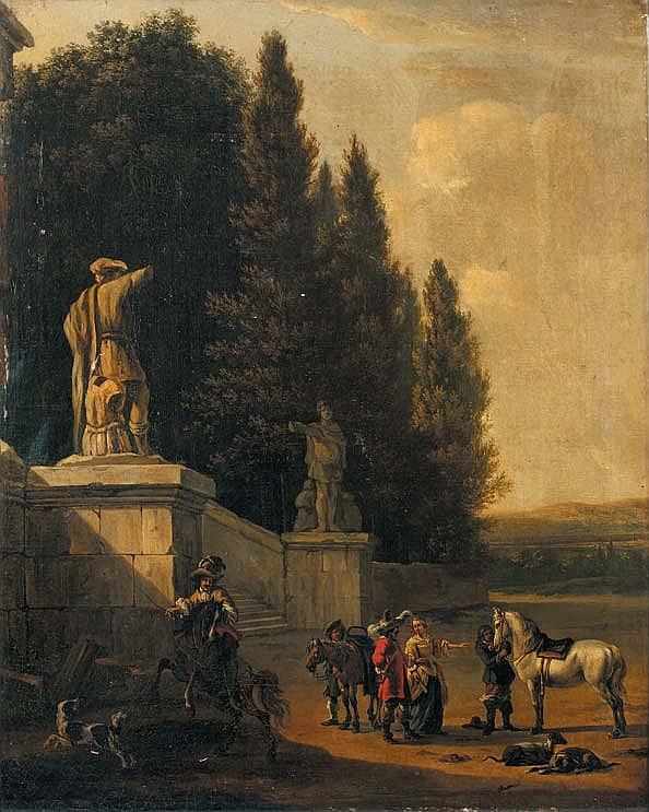 MOUCHERON FRÉDÉRIC ET LINGELBACH  JOHANNES (ATTRIBUÉ À)