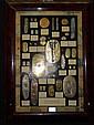 RARE ENSEMBLE DE MONNAIES ANCIENNES ET REPRODUCTIONS EN OR ARGENT ET VERMEIL.