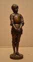 Ernest BARRIAS Jeanne d'Arc Bronze à patine