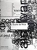 L'ECOLE DE NICE    LIVRE VERLHAC EDITIONS 2010 Franck Leclerc, direction artistique Ralph Hutchings 430 pages. Parfait état.