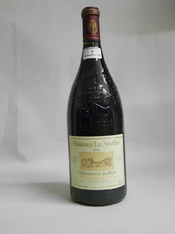 1 magnum  CHÂTEAUNEUF-DU-PAPE, La Nerthe  1995  cb
