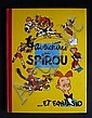 EXCEPTIONNELLE COLLECTION D'ALBUMS DE SPIROU ET FANTASIO EN ÉDITIONS ORIGINALES