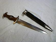 An original German Second War Nazi NSKK dagger
