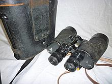 A pair of US Navy MK1 model 1 binoculars by Bausch