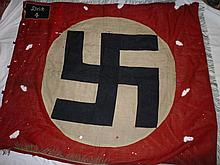 An original German Second War Nazi party banner