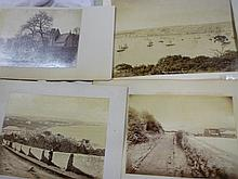 Seven Victorian large-size photographs of Penzance