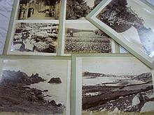 Eight Victorian large-size photographs of The