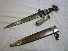 An original German Second War Nazi SA dagger with
