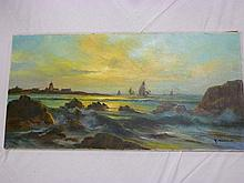 R**Tangui - oil on canvas  Shipping off the co