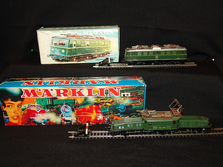 A 1960s Märklin HO electric loco 3036, boxed;