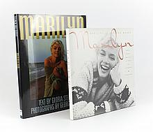 Two Marilyn Monroe Books Signed By George Barris