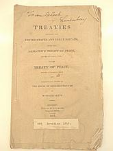 1815 All the  Treaties Between US and Great Britian