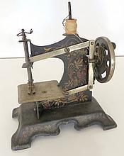 Miniature Stenciled Sewing Machine