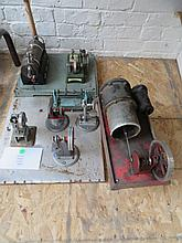 Group Steam Engine Parts