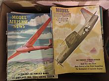 Large Lot Model Airplane News Magazines
