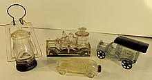 Group Five Antique Candy Containers