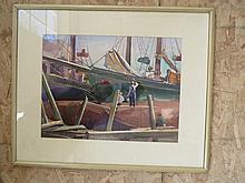 Marine Watercolor