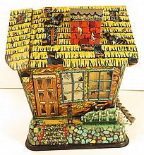 Rare Tin Marx Hootin Haunted House